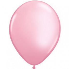 8 Balões Rosa Pérola