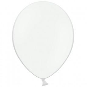 10 Balões Latex Brancos