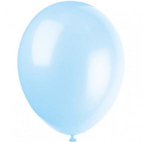10 Balões Cool Blue