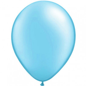 10 Balões Latex Azul Claro