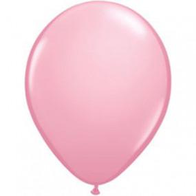 10 Balões Latex Rosa Claro