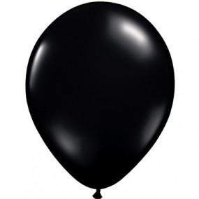 10 Balões Latex Pretos