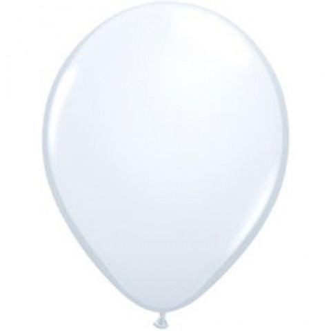 100 Balões Latex Brancos