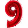 Balão Grande Número Vermelho
