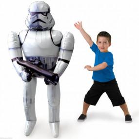 Balão Airwalker Star Wars Stormtrooper 177cm