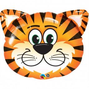Balão cabeça tigre 76cm