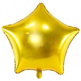Balão Estrela Dourada 48cm
