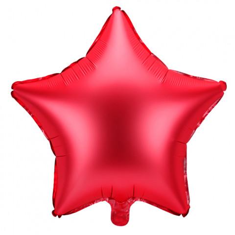 Balão Estrela Vermelha 48cm