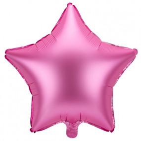 Balão Estrela Rosa 48cm