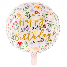 Balão Happy Birthday 35cm