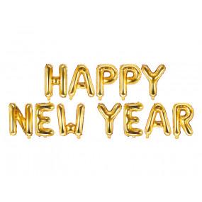 Grinalda Balões Happy New Year