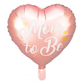 Balão Mom To Be Rosa 35cm