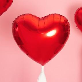 Balão Coração Vermelho 45cm
