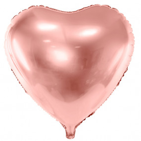 Balão Coração Rosegold 45cm