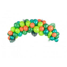 Arco Balões Verdes Dino
