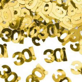 Confetis Dourados 30