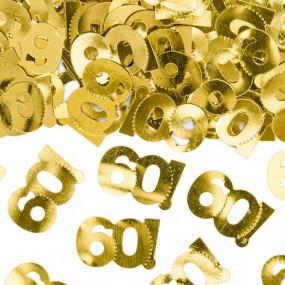 Confetis Dourados 60