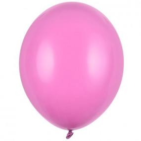 100 Balões Latex Rosa Forte 30CM