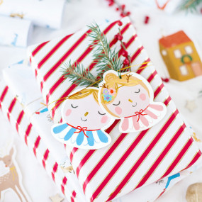 Etiquetas natal Mix