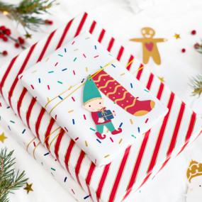 Etiquetas natal Mix Santa