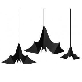 Morcegos Decorativos conj. 3