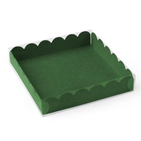 Caixa Bombons e Bolachas Verde