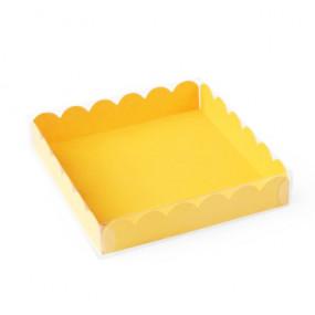 Caixa Bombons e Bolachas Amarela