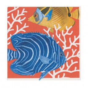 Guardanapos Peixes Coral