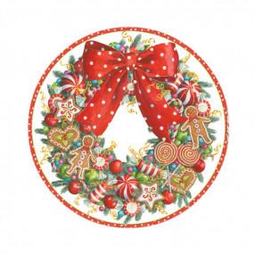 Pratos Natal Candy