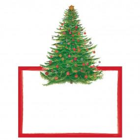 Cartões Marcadores Pinheiro Natal