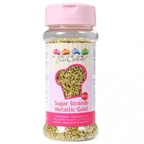 Vermicelli Açúcar Dourado