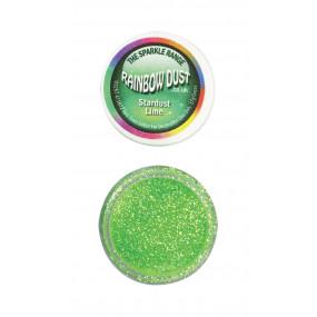 Purpurina Decorativa Stardust Verde Lima