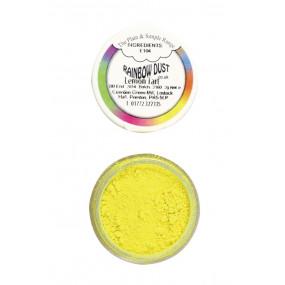 Pó Comestível Amarelo Tarte de Limão