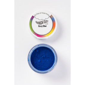 Pó Comestível Azul Navy