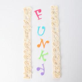 Cortador de Letras e Números Divertidos