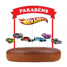 Topo Bolo Hot Wheels