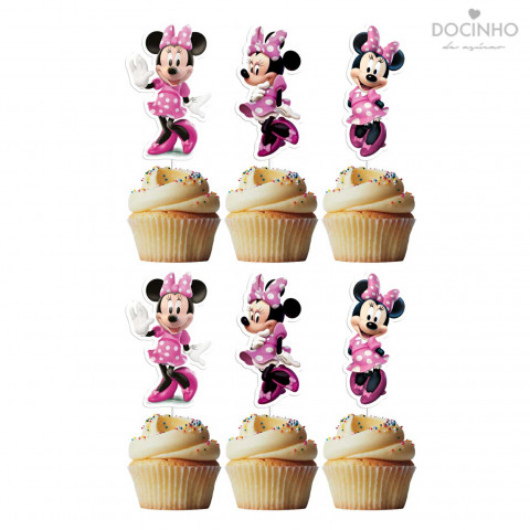 6 Toppers Minnie Rosa