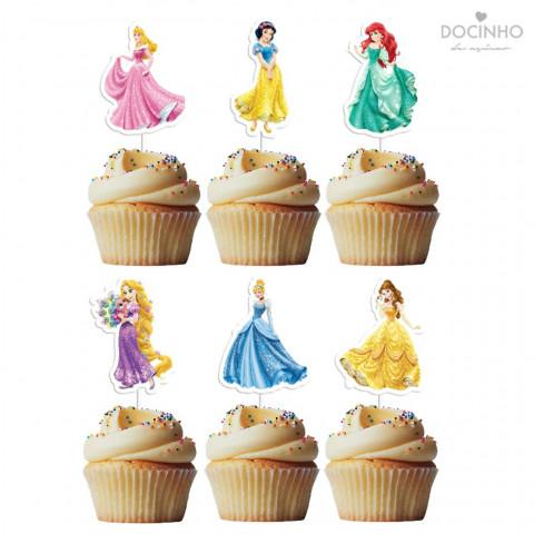 6 Toppers Princesas