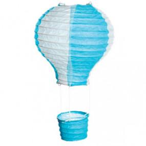 Balão Ar Quente Azul e Branco