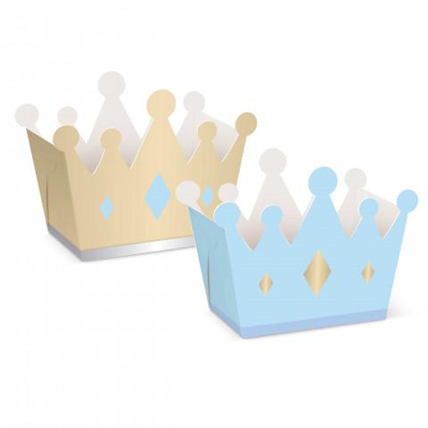 Caixas Coroas Príncipe - conj.8