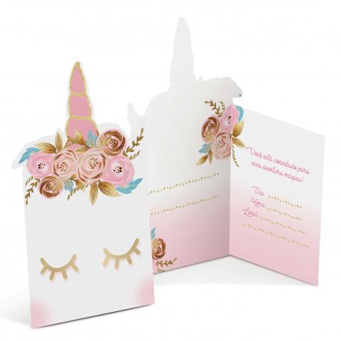 Convites Unicornio