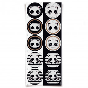 Etiquetas  Panda - conj.30