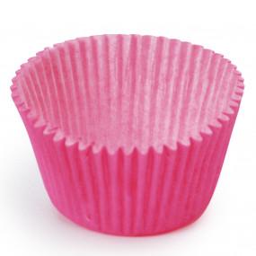 100 Mini Forminhas Brigadeiros Rosa