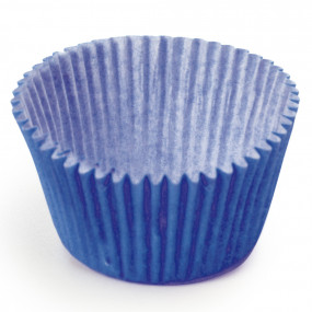 100 Mini Forminhas Brigadeiros Azul