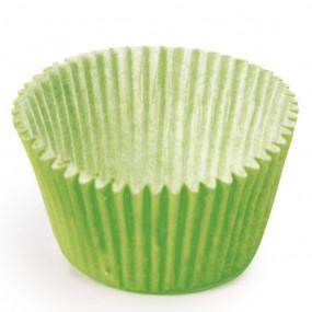 100 Mini Forminhas Brigadeiros Verde Alface