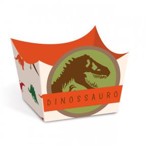 Forminha Brigadeiro Dinossauro - Conj.24