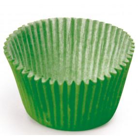 100 Mini Forminhas Brigadeiros Verde