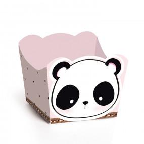 Forminhas Brigadeiro Panda - Conj. 24
