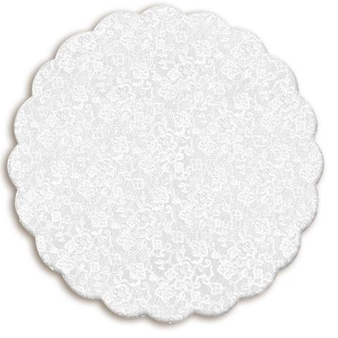 100 Tapetinhos Brigadeiro Branco