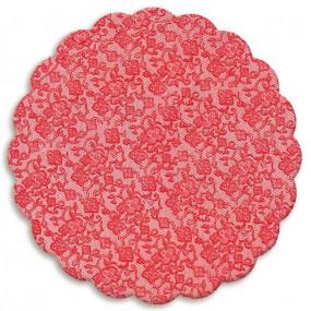 100 Tapetinhos Brigadeiro Vermelho